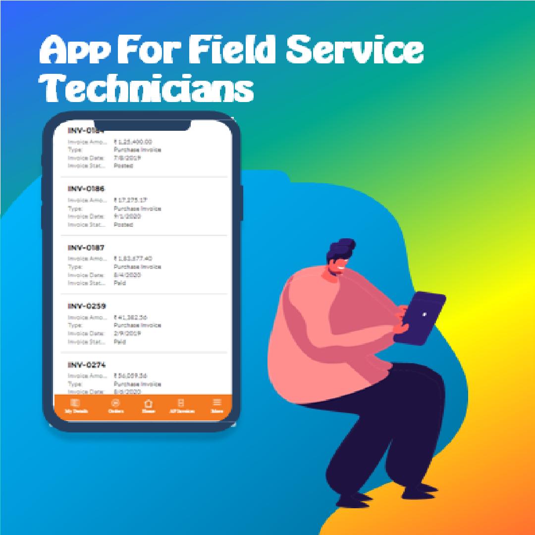 Field service app