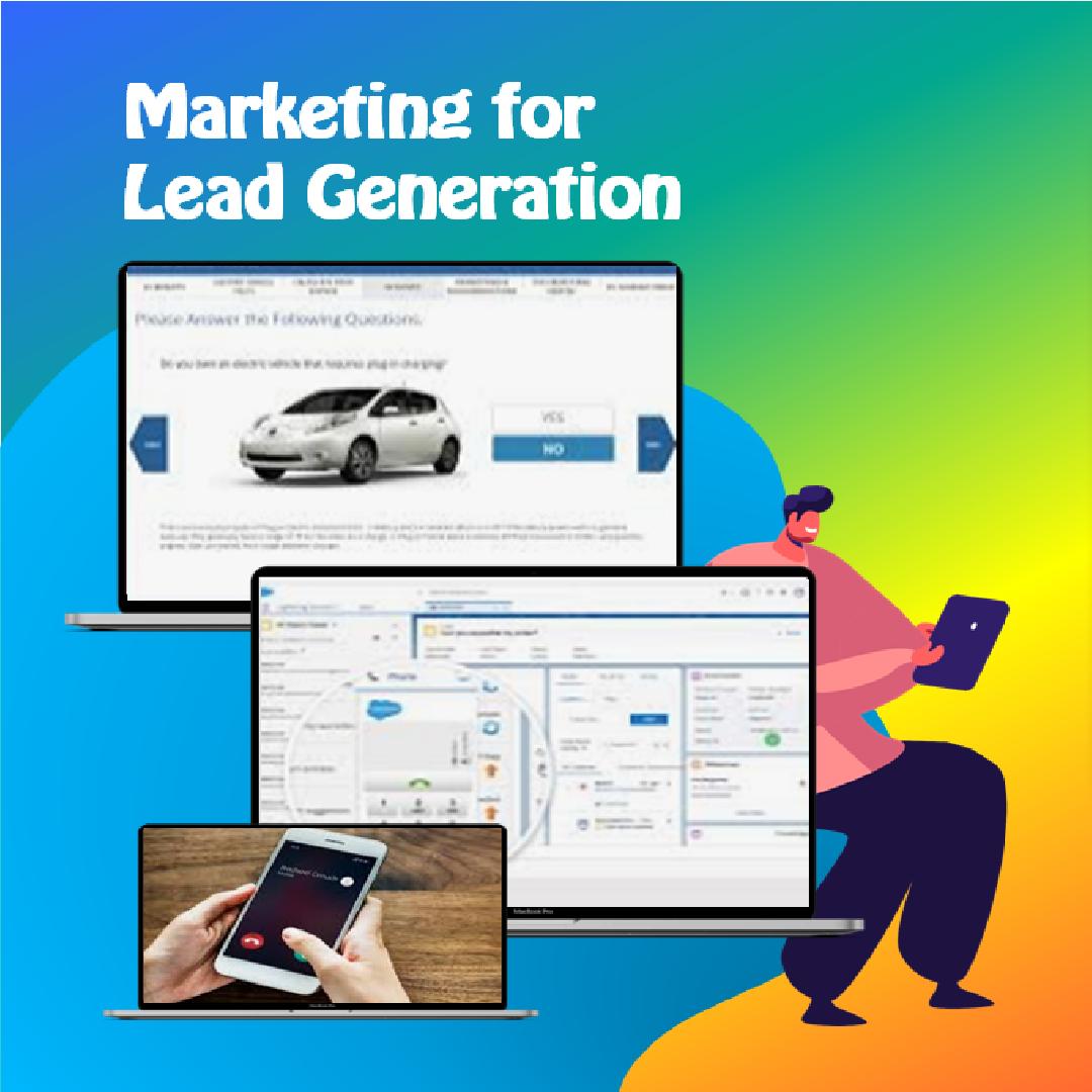 marketing lead generation slide