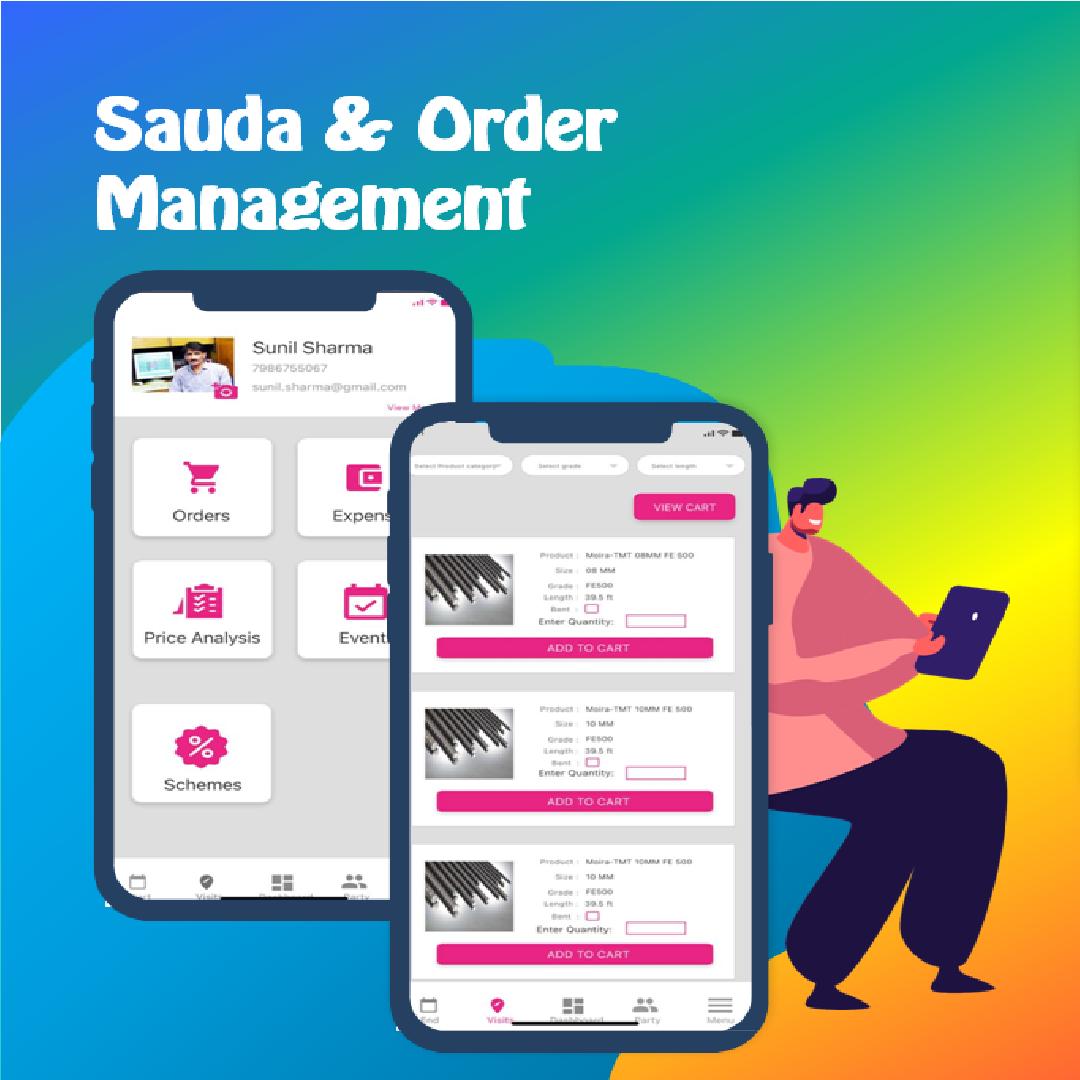 sauda - order management